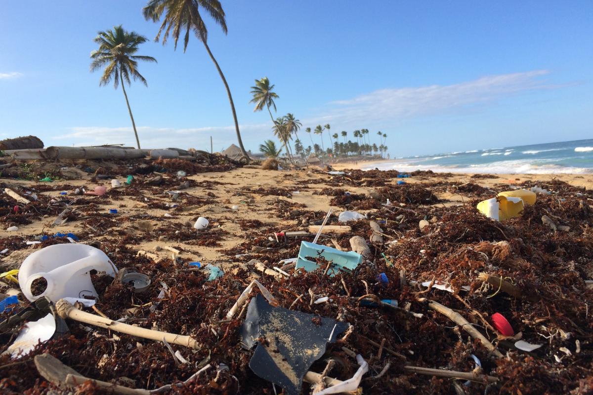 le plastique dans les océans